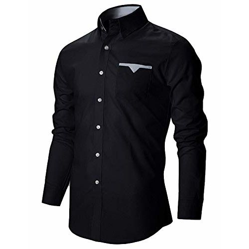 IndoPrimo Men's Latest Cotton Casual Shirt Full Sleeve Shirt for Men