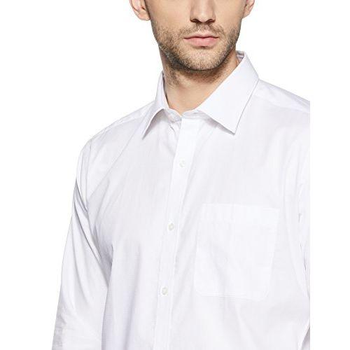 Raymond White Slim Fit Cotton Shirt