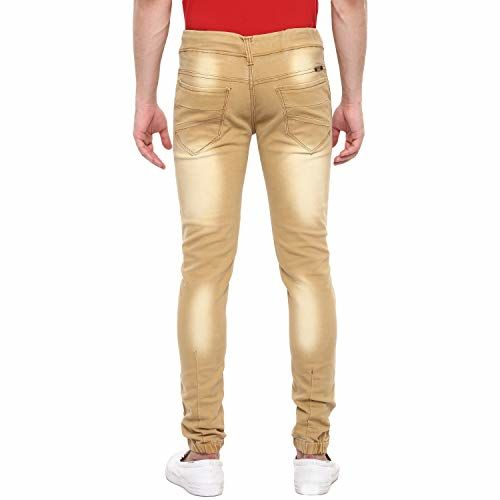 Urbano Fashion Men's Slim Fit Jogger Jeans Stretchable