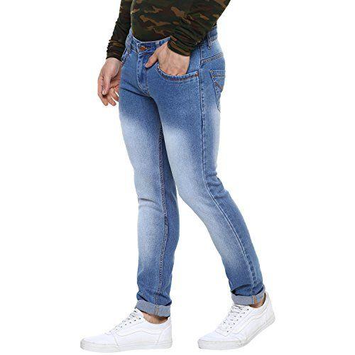 Urbano Fashion Men's Slim Fit Denim Jeans Stretchable