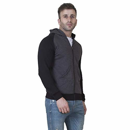 Veirdo Cotton Jacket for Men - Black