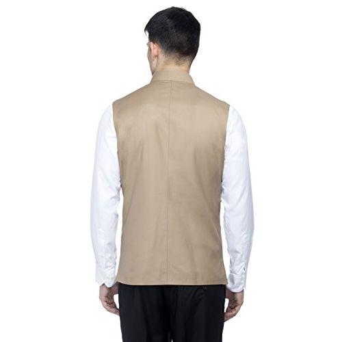 Favoroski Bandhgala Sleeveless Modi Jackets Ethnic Men's Wear