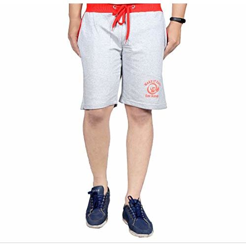 Ezee Sleeves Men's Cotton Shorts Combo (Set of 3) Shorts for Gyming/Jogging/Running/Exercise/Cycling | Shorts for Men | Cotton Shorts for Men.