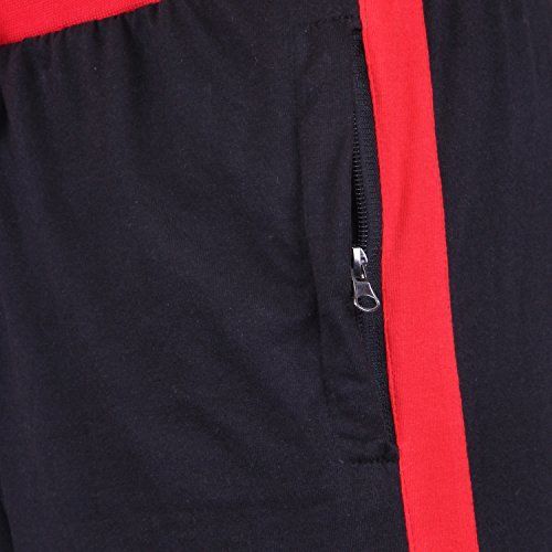 DFH Men's Relaxed Fit Casual Trousers