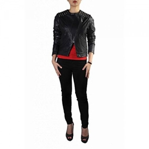 THEO & ASH Women Metal Studded Jacket