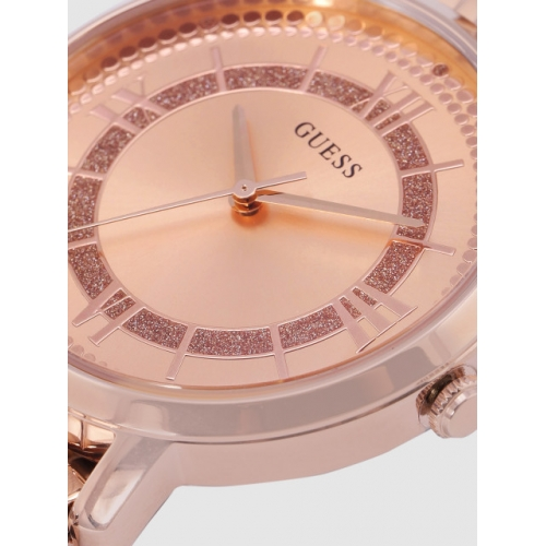 GUESS Rose Gold-Toned Analogue Watch W0933L3