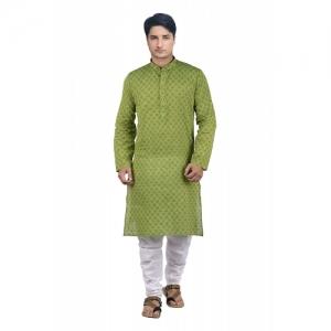 Maharaja Shirt Men's Cotton Kurta Pyjama