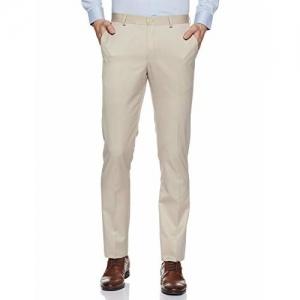 blackberrys Men's Slim Fit Formal Trousers