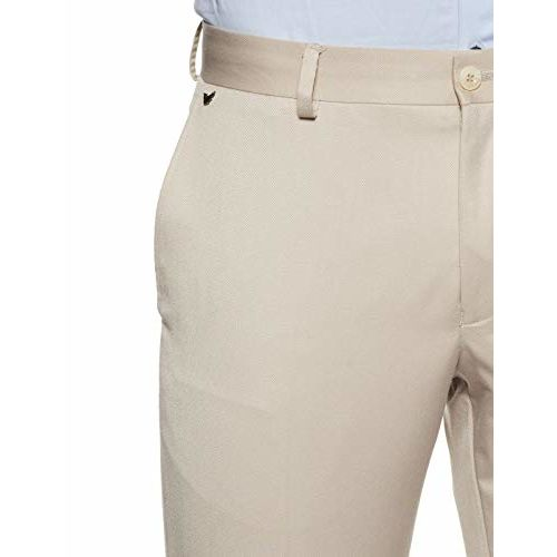 blackberrys Men's Slim Fit Formal Trousers