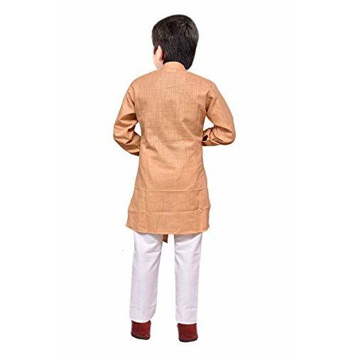 Tucute Kids Indo Western Cotton Kurta and Pyjama Set for Boys