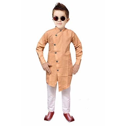 Tucute Kids Ethnic Wear Indo Western Kurta and Pyjama Set for Boys