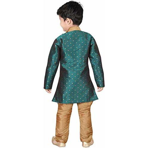 Oner Boy's Cotton Kurta Pyjama Set