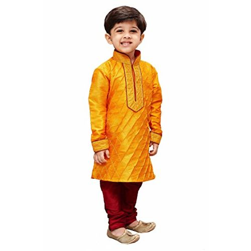 JBN Creation Boys' Regular Fit Kurta Pyjama