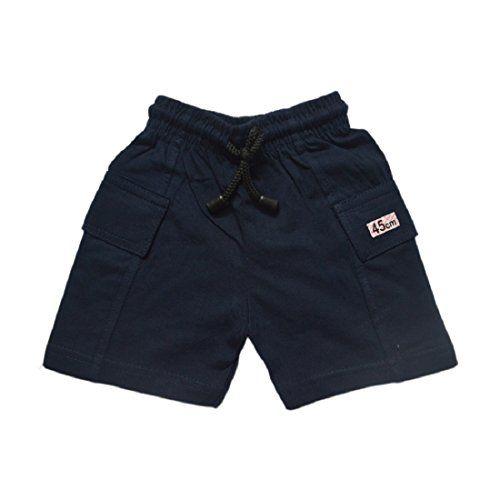 Mysilk Saree Boy's Pure Cotton Half Pants - Pack of 5