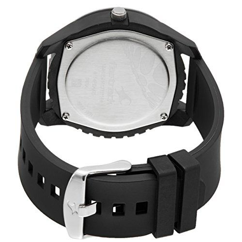 Fastrack NJ3114PP01C Black Silicone Analog Dial Watch