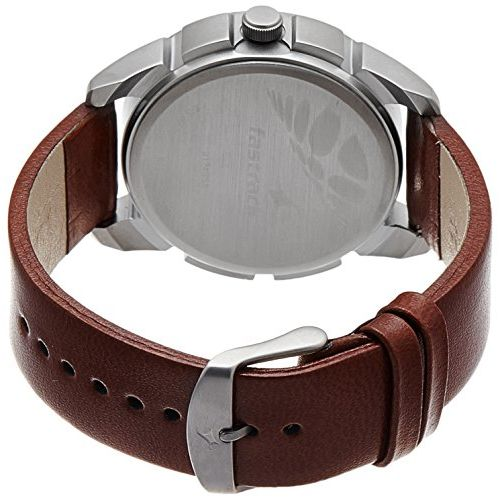 Fastrack NK3124SL02 Brown Leather Analog Dial Watch