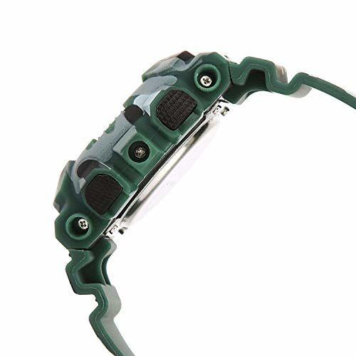Emartos Green Round Polyurethane Digital Watch