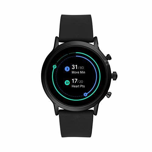 Fossil FTW4025 Gen 5 Black Round Touchscreen Smartwatch