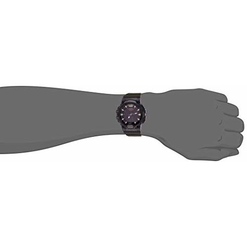 Casio HDC-700-3AVDF (D155) Black Resin Round Analog Watch