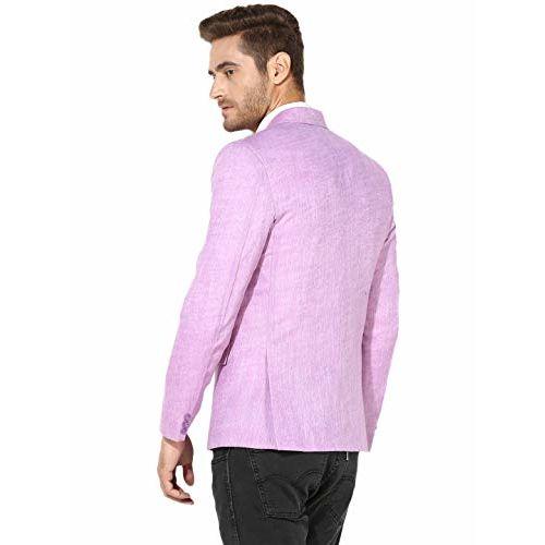 hangup Men's Notch Lapel Regular fit Blazer