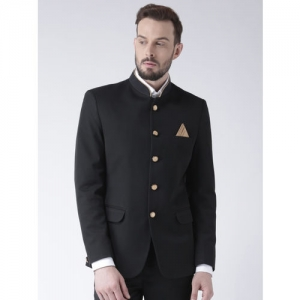 Hangup Black Single-Breasted Blazer
