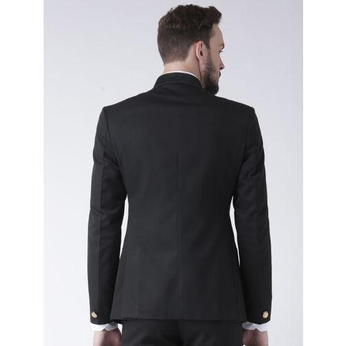 Hangup Black Single-Breasted Blazer