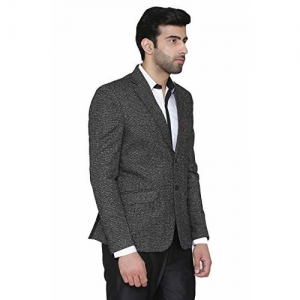 Wintage Men's Rayon Notch Lapel Two Button Coat Blazer Jacket