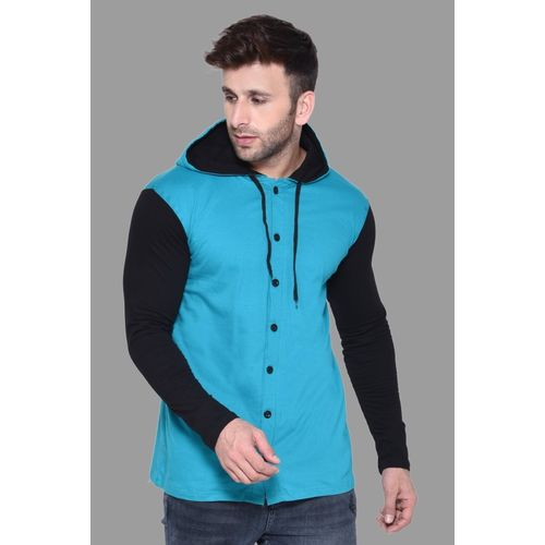 Tfurnish Solid Men Hooded Neck Multicolor T-Shirt