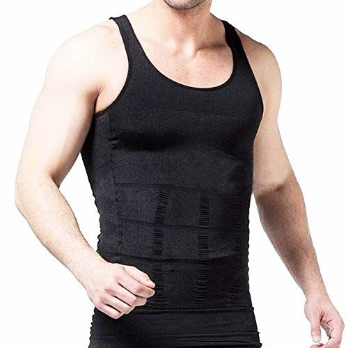 Gassa Men's Tummy Tucker Vest