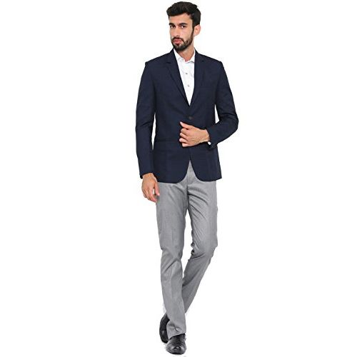 Shaftesbury London Men's Solid Slim fit Cotton Formal Shirt for Men (Black)