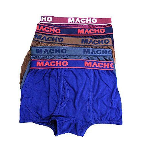 Macho Men's Mini Plain Trunk Assorted Combo of 3