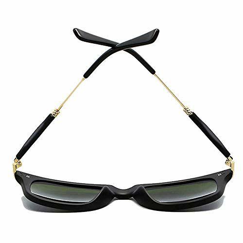 REX Polarized UV400 Protected Wayfarer Square Unisex Sunglasses(H1GKR189 Black and Blue)