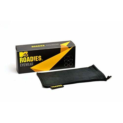 MTV Roadies Wayfarer Unisex Sunglass (RD-112-C1|Grey)