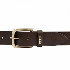 Flyer brown genuine Leather Adjustable Double Side belt