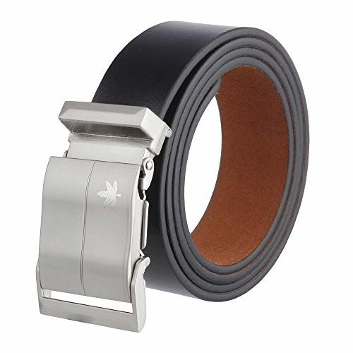 ZORO Men's Genuine Leather Belt, (1 Year Guarantee) - belts for mens - belts for men casual stylish leather- belts for men formal branded, mens belt, brown