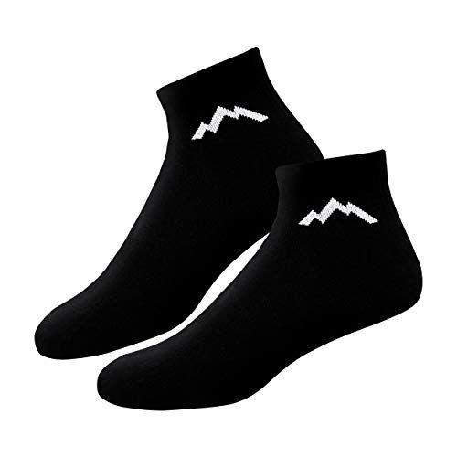 Ranger Sport Ankle Men's Heavy Duty Cotton Quarter Length Athletic Socks, Pack of 3 (Free Size)