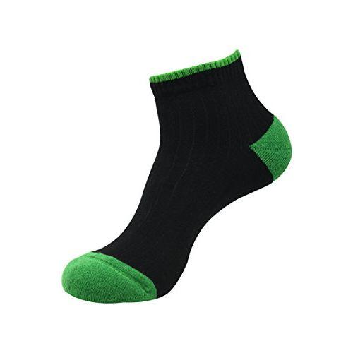 Balenzia Men's Cushioned High Ankle Sports Socks- Black, L.Grey, Navy (Pack of 3)