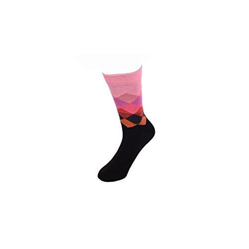 Tuscanny Men's Cotton Perfumed Ultra Fresh Odourless Formal Socks (T071,Multicolour,Free Size) - Pack of 5