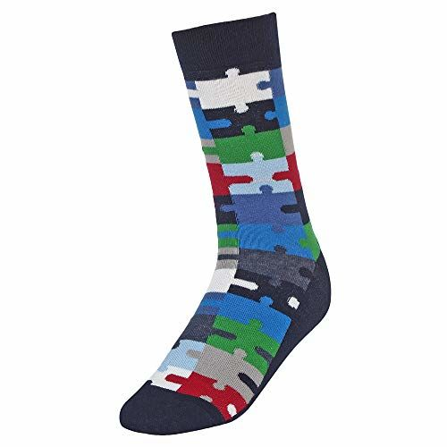 CREATURE Men's Cotton Calf Length Colorful Casual Socks Combo of 3(SCS-15)