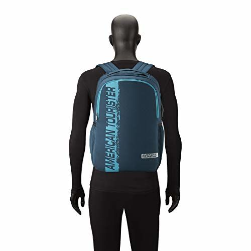 American Tourister Spin 29 Ltrs Teal Laptop Backpack (FS0 (0) 11 001)