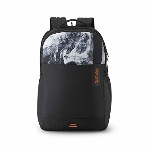 American Tourister Spin 29 Ltrs Black Laptop Backpack (FS0 (0) 09 002)