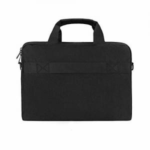 Tarkan Cosmos Water Resistant Padded Laptop Bag for Men Shoulder Briefcase (Black)