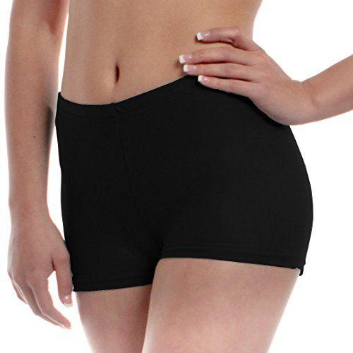 THE BLAZZE Women's Seamless Spandex Boyshort Underskirt Pant Short Leggings