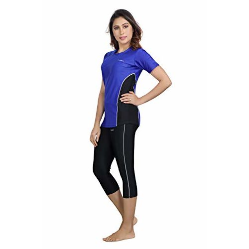 Rovars 2 Piece Swimming Costume for Women (Without Pads)