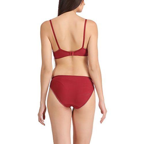 FIMS - Fashion is my style Satin Nylon Lycra Spandex (4WAY)|Bikini Set for Women for Beach|Lingerie for Women|Sexy Lingerie for Honeymoon Sex|Lingerie Set|Bra
