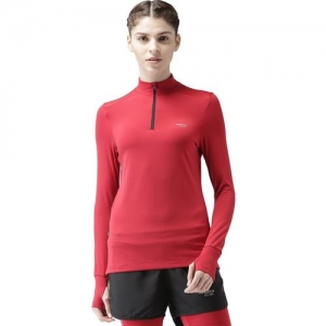 2GO Solid Women Turtle Neck Red T-Shirt