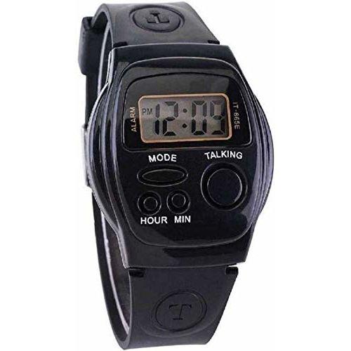 fuerdanni Spanish Voice Talking Kid's Digital Watch