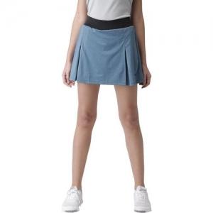 2GO Solid Women Skorts Light Blue Skirt