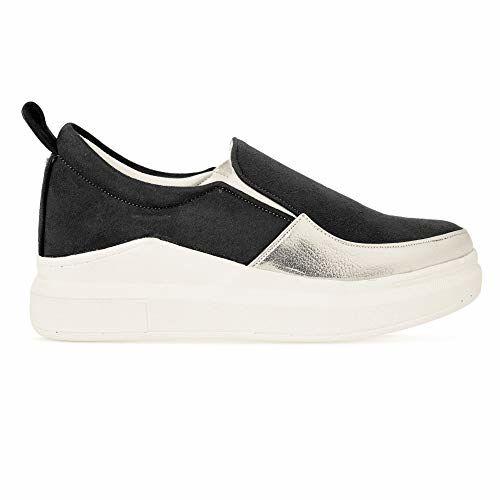 PrasKing High Top Slip On Sneaker Shoes for Women