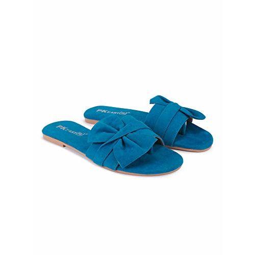 Pkkart  Blue Fashion Flip Flops